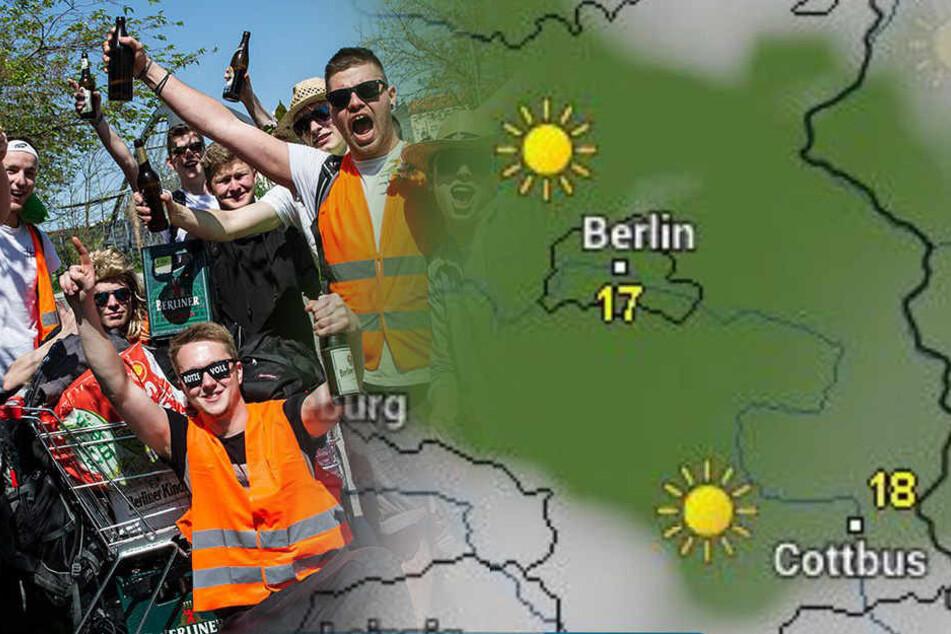 Herrentag in Berlin: Spielt das Wetter mit?
