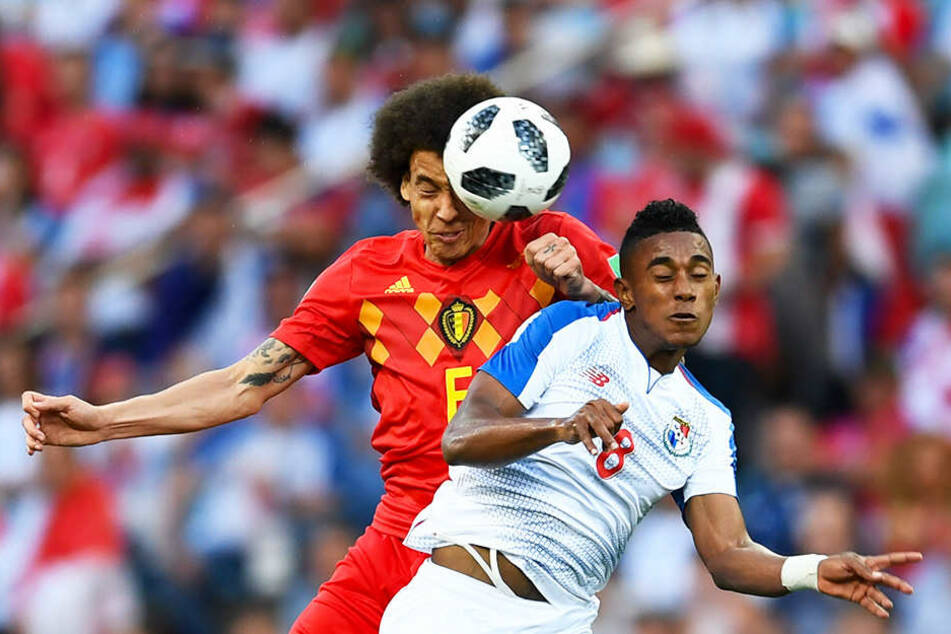 Bei der WM 2018 stand Axel Witsel (l.) in sechs von sieben Spielen über 90 Minuten auf dem Feld.