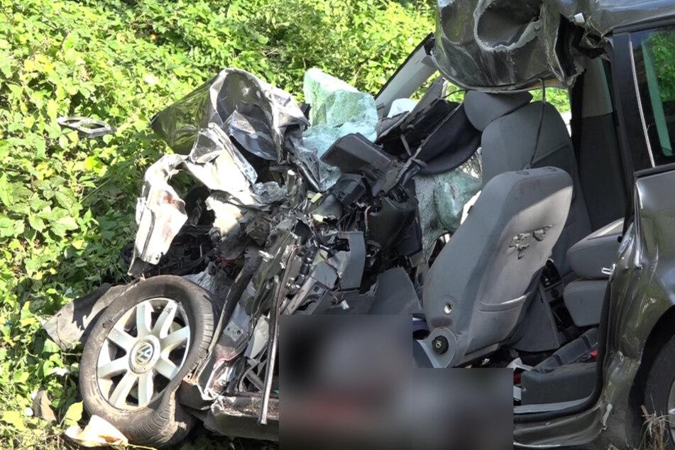 Massen-Crash: Acht Verletzte, zwei davon lebensgefährlich