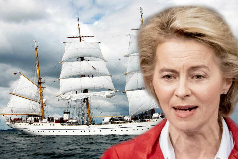 """""""Gorch-Fock-Affäre"""": von der Leyen droht mit drastischem Schritt"""