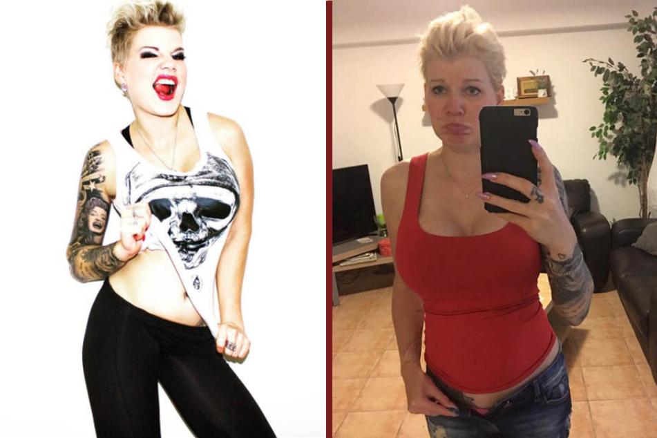 Sexy Kurven und Wespentaille? Davon muss sich Bald-Mama Melanie Müller (28) bald erstmal verabschieden...