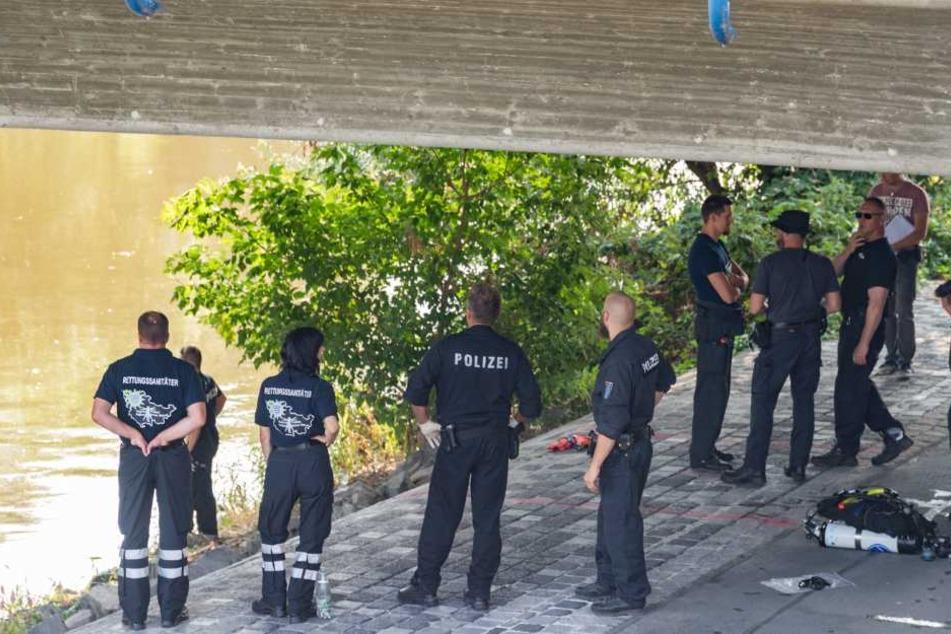 Im Fluss wurde die Leiche des 26-jährigen Opfers gefunden.