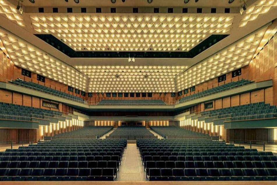 """Die Stadthalle - für Maurizio Camagna """"ein Meisterstück mit Blick für jedes Detail""""."""