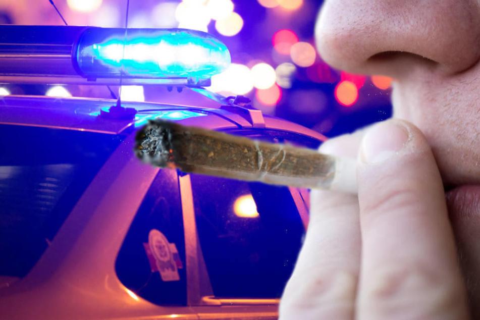 Der 24-Jährige war wohl vor der Polizei geflüchtet, weil er bekifft war, Marihuana im Auto und außerdem keinen Führerschein hatte (Symbolbild).