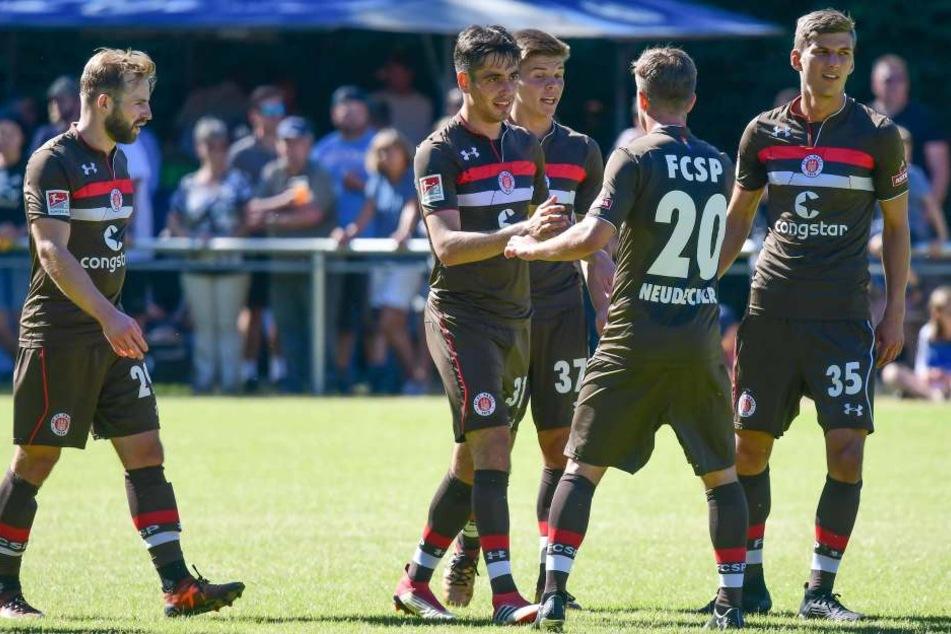 Die Kiezkicker fuhren gegen den FC Pinzgau einen ungefährdeten 8:0-Sieg ein. (Symbolbild.)