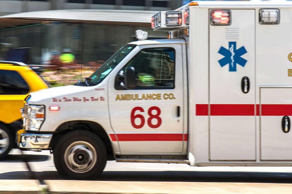 Die Hilfe des Krankenwagens kam für ein Kleinkind (17 Monate) zu spät.