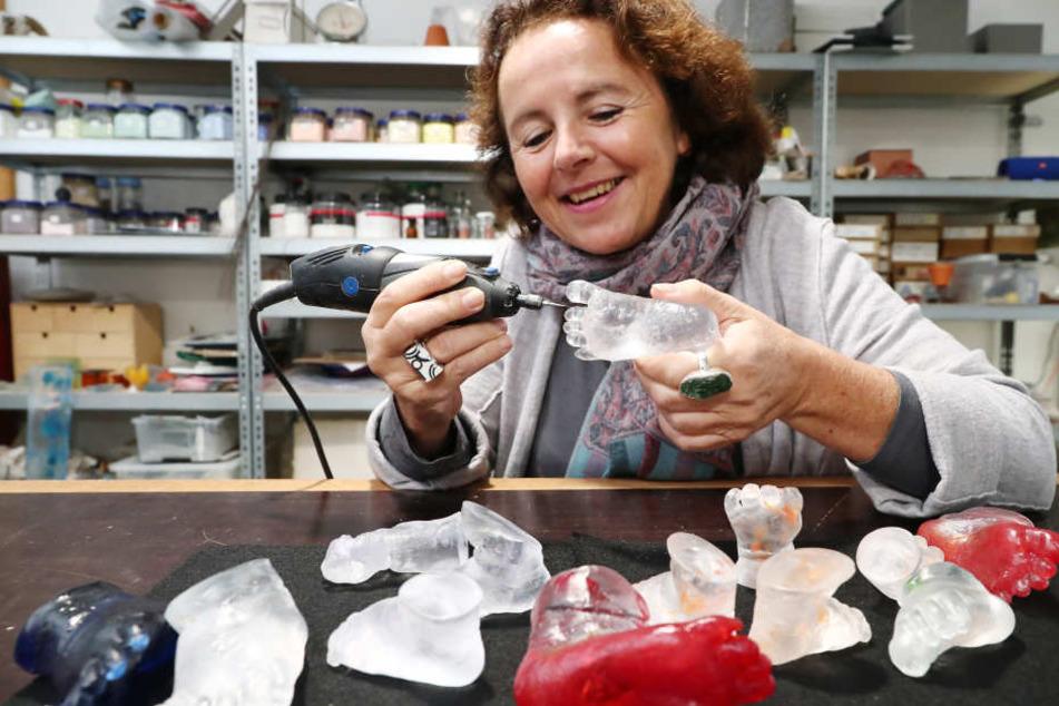 Leipzig: Diese Leipzigerin zaubert aus Glas wunderschöne Kunstwerke