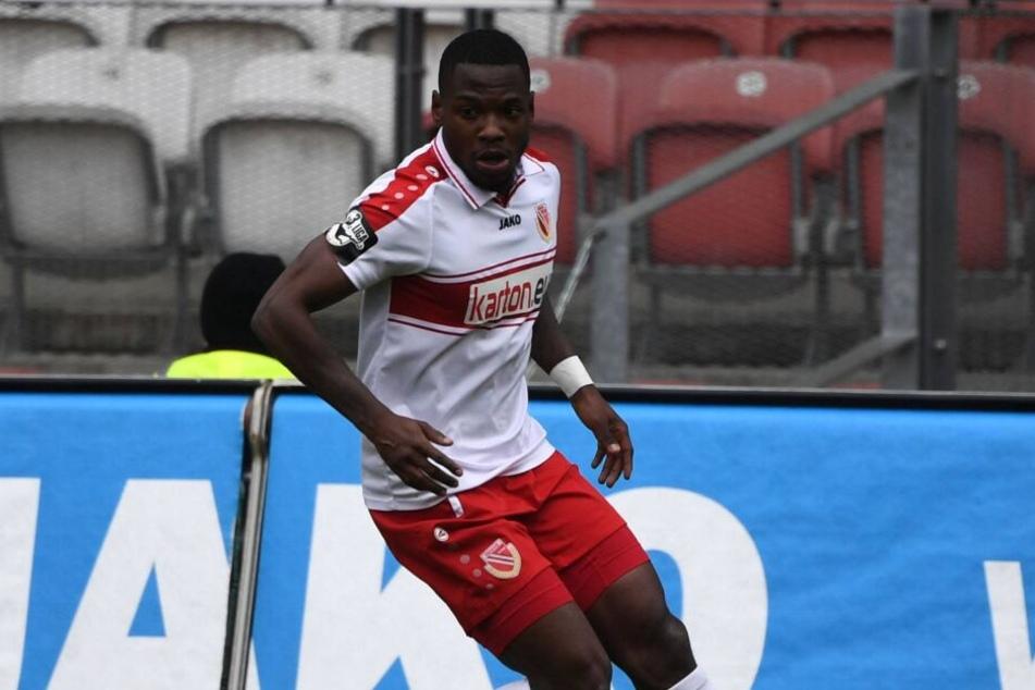 Streli Mamba erzielte in der Drittligasaison 2018/2019 elf Tore für Energie Cottbus.