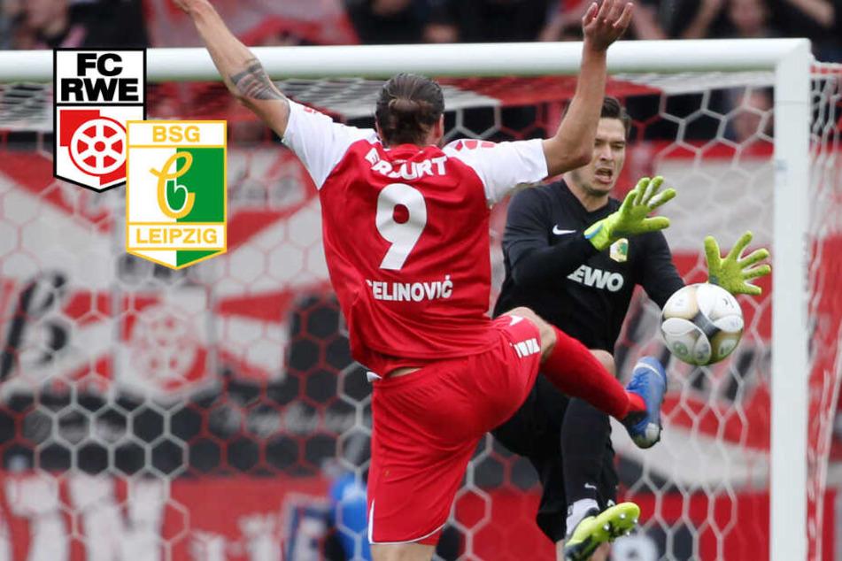 0:0 in Erfurt! Chemie Leipzig nullt sich auf einen Abstiegsplatz