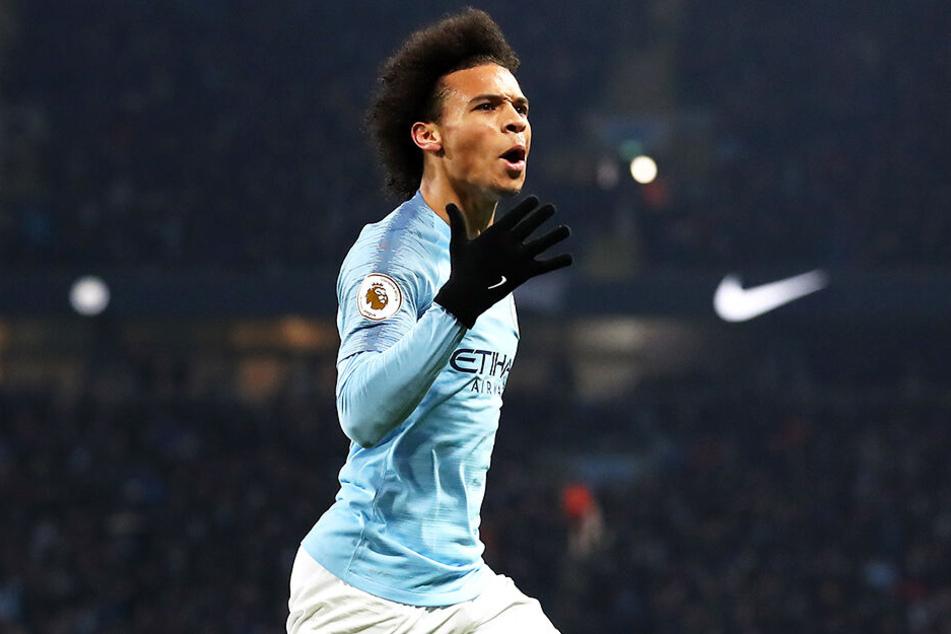 Oder setzt sich Manchester City um den deutschen Nationalspieler Leroy Sané durch?