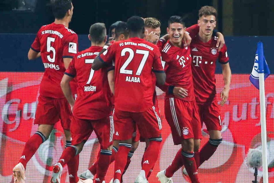Der FC Bayern München marschiert auch in diesem Jahr einmal mehr voran.