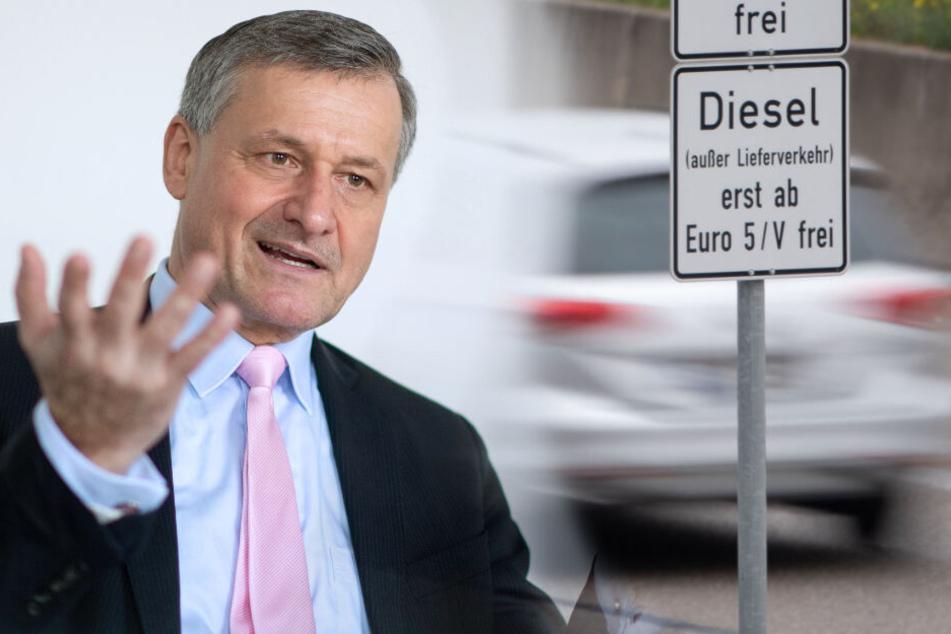FDP-Politiker findet, dass die CDU Schuld an Diesel-Fahrverboten ist