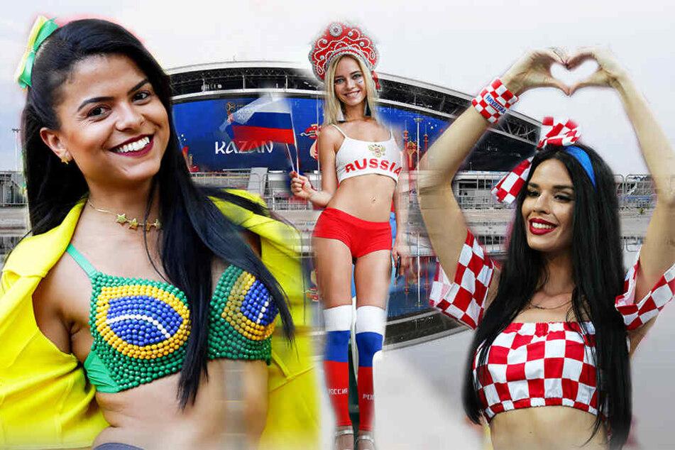 Leicht bekleidete Frauen sollen zukünftig seltener bei WM-Spielen eingeblendet werden.