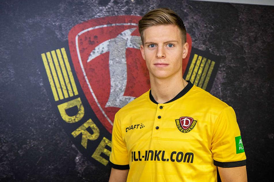 Dzenis Burnic verstärkt Dynamo Dresden. Der 20-Jährige wechselt auf Leihbasis von Borussia Dortmund zur SGD.