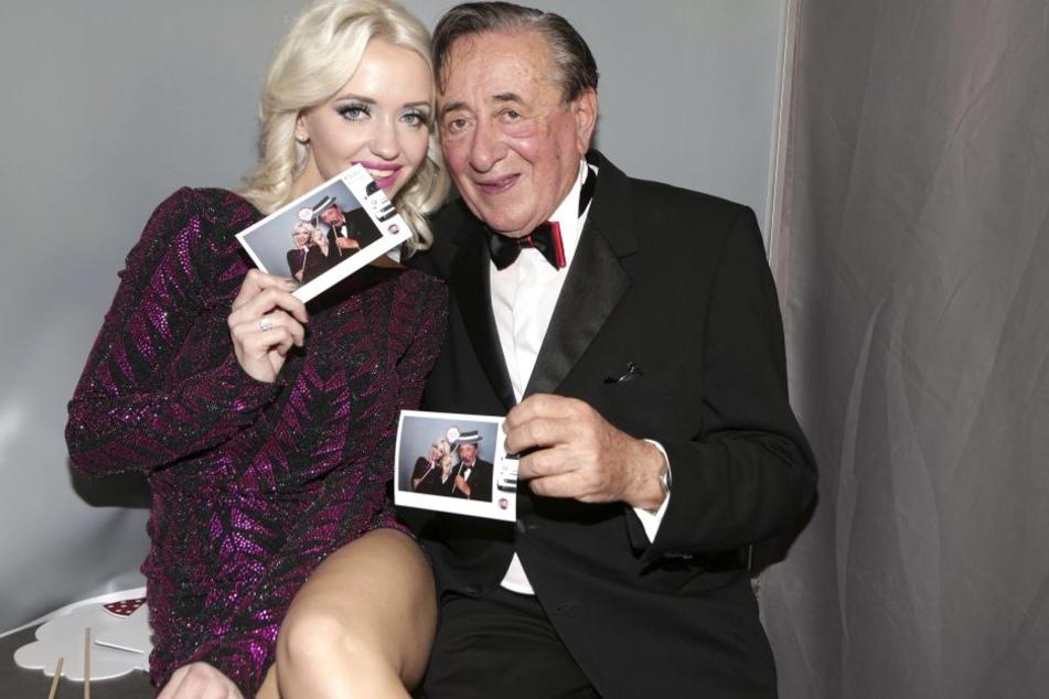 Cathy Lugner (l.) hier mit ihrem Ex-Mann Richard Lugner.