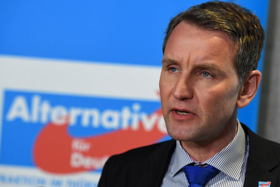 Björn Höcke steht beim Parteitag der AfD Thüringen im Mittelpunkt.