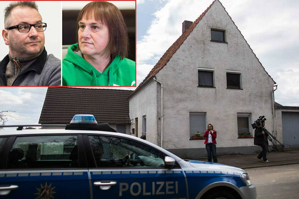 Die beiden Angeklagten, Wilfried Max W. und Angelika W..