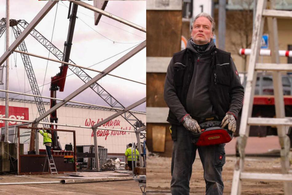 Dresden: Hier bricht André Sarrasani persönlich seine Zelte ab