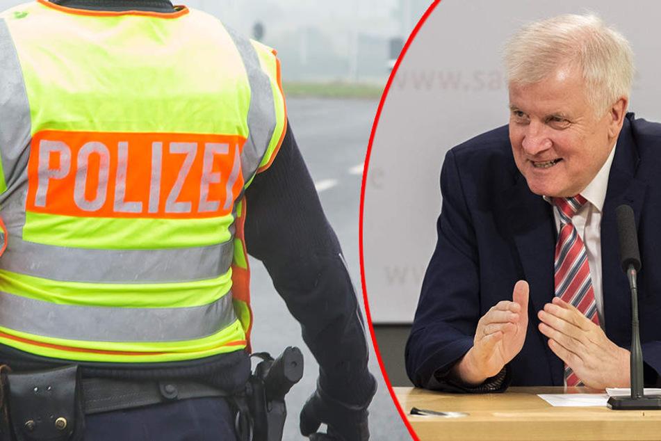 Wo bleibt die Verstärkung für Sachsen? Bundespolizei nimmt Seehofer unter Feuer!