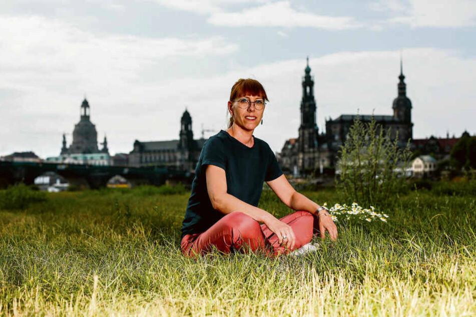 Katja Meier (39) ist Spitzenkandidatin für die Grünen bei der Landtagswahl.