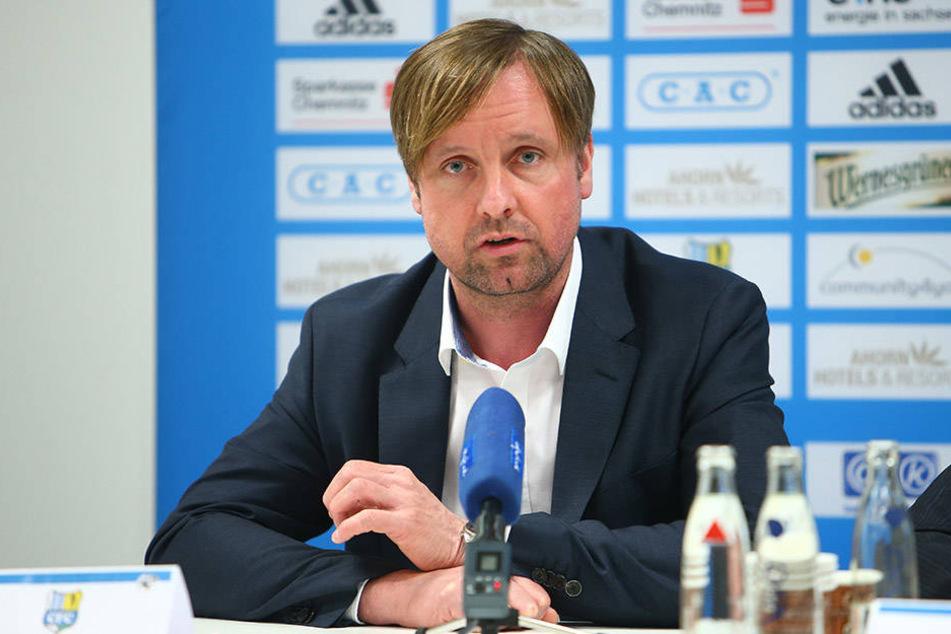 Stefan Bohne wurde auf einer Pressekonferenz offiziell vorgestellt.