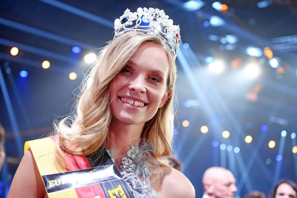 Muss die Krone wieder abgeben: Nadine Berneis aus Stuttgart.