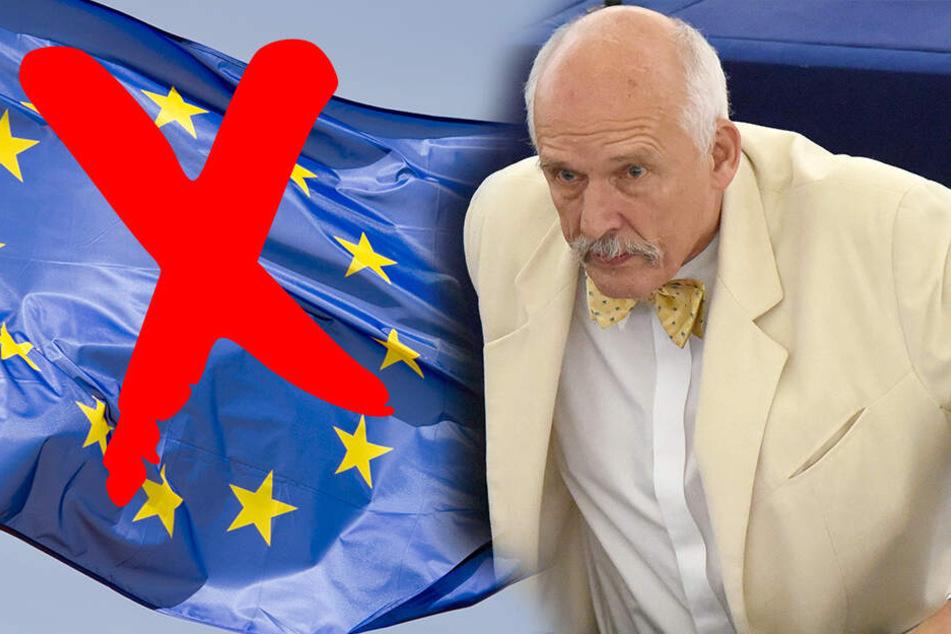 """Protest in Polen: """"Nieder mit der Europäischen Union"""""""