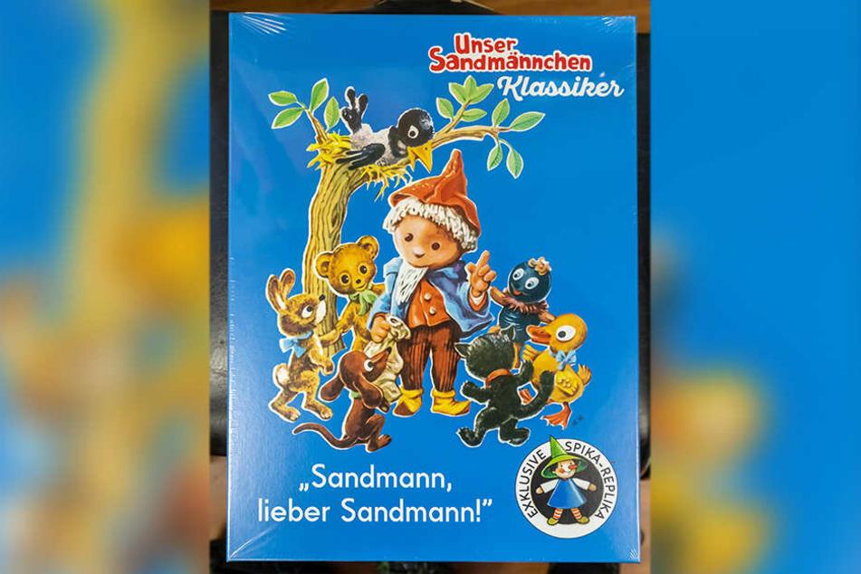 Der Annaberger Spiele-Liebhaber präsentiert das Sandmännchen-Spiel. Die Brettspiele werden in Sachsen und Thüringen hergestellt.