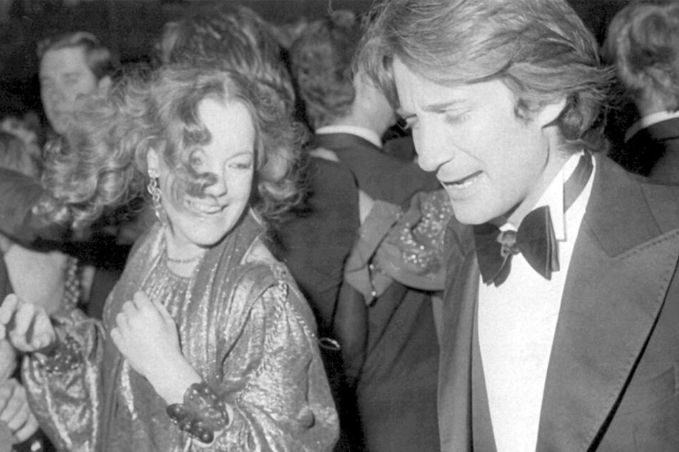 Romy Schneider und Daniel Biasini 1978.