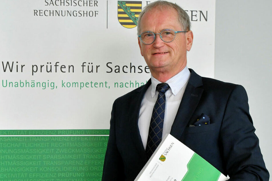 Rechnungshof-Präsident Karl-Heinz Binus (65).