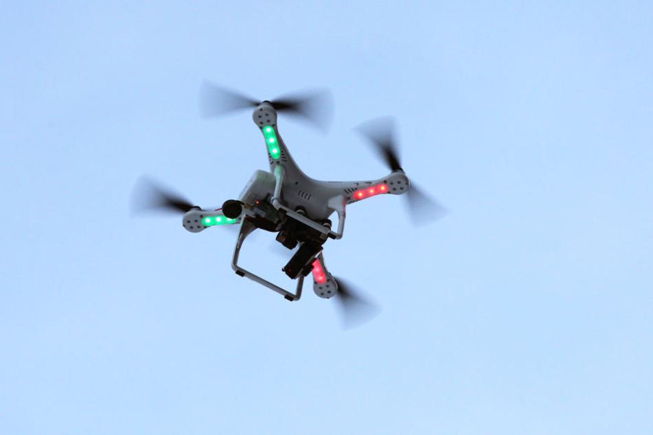 Die Drohne schoss aus 20 Metern Entfernung auf den Mann. (Symbolbild)