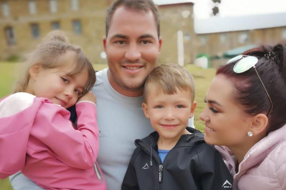 Die Familie de Jager. Mutter Angeline postete dieses Foto ihrer Familie im Februar diesen Jahres auf Facebook.