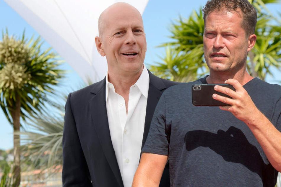 In Hollywood: Til Schweiger dreht mit Bruce Willis einen Actionfilm