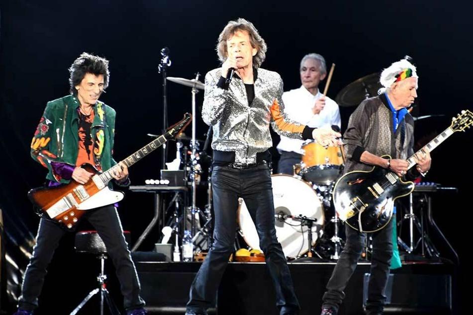 Old but good: So wollen de Rolling Stones am liebsten auch in Zukunft auf der Bühne rocken.