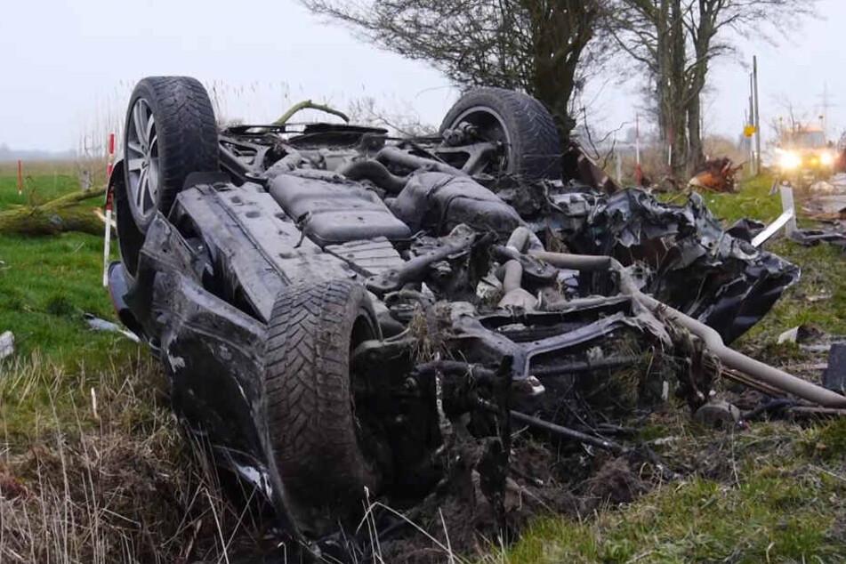 Schrecklicher Unfall: Audi-Fahrer (36) verunglückt tödlich