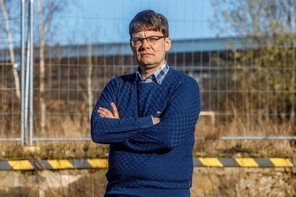 Stadtbezirksbeirat Edwin Seifert (46, SPD).
