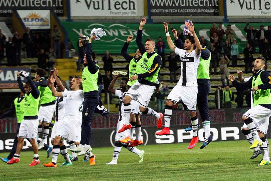 Verfrühter Jubel? Vielleicht steigt Parma Calcio doch nicht in die Serie A auf!