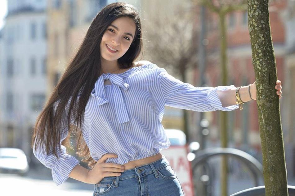 Selina Tulasoglu (14) will es mit ihrer Stimme noch weit bringen.