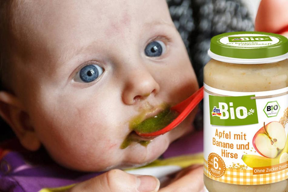 Aufgepasst! dm ruft Bio-Babybrei zurück