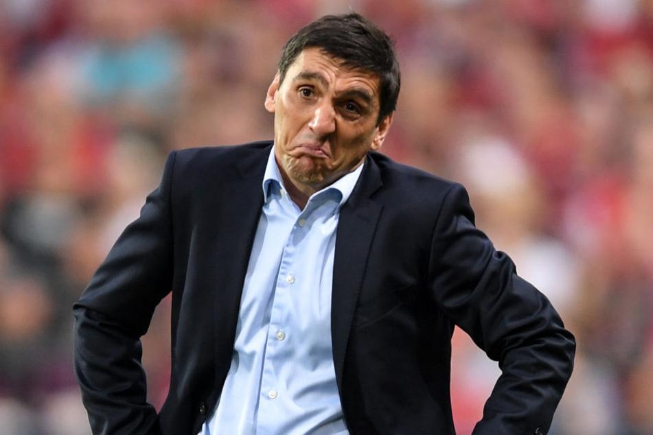 Seine Verpflichtung als VfB-Trainer im Januar sorgte für Unruhen bei den VfB-Fans: Tayfun Korkut.