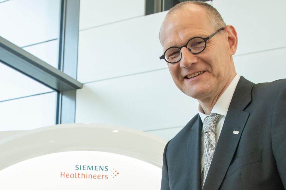Medizintechnikkonzern Siemens Healthineers will mit KI wachsen
