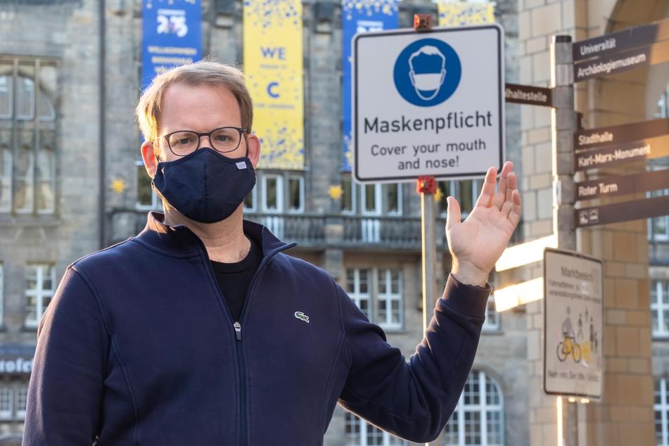 Fordert strengere Maßnahmen gegen maskenlose Corona-Demonstranten: SPD-Stadtrat Jürgen Renz (46).