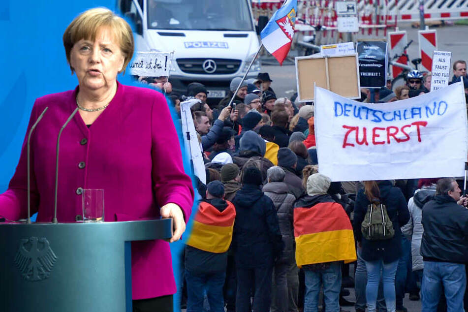 """Merkel muss weg""-Demos vor dem Aus?"