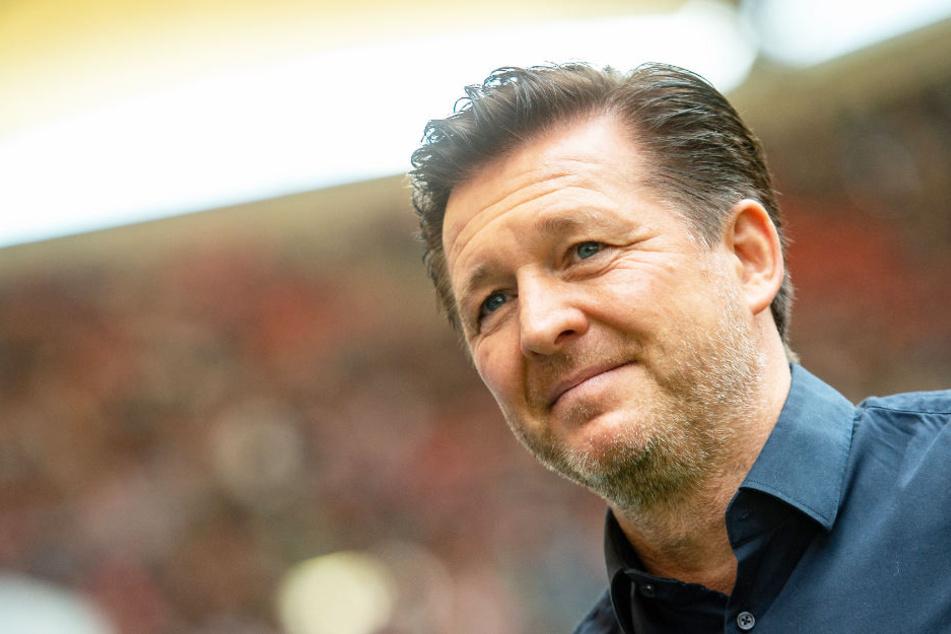 Christian Titz war von März bis Ende Oktober 2018 HSV-Trainer (Archivbild).
