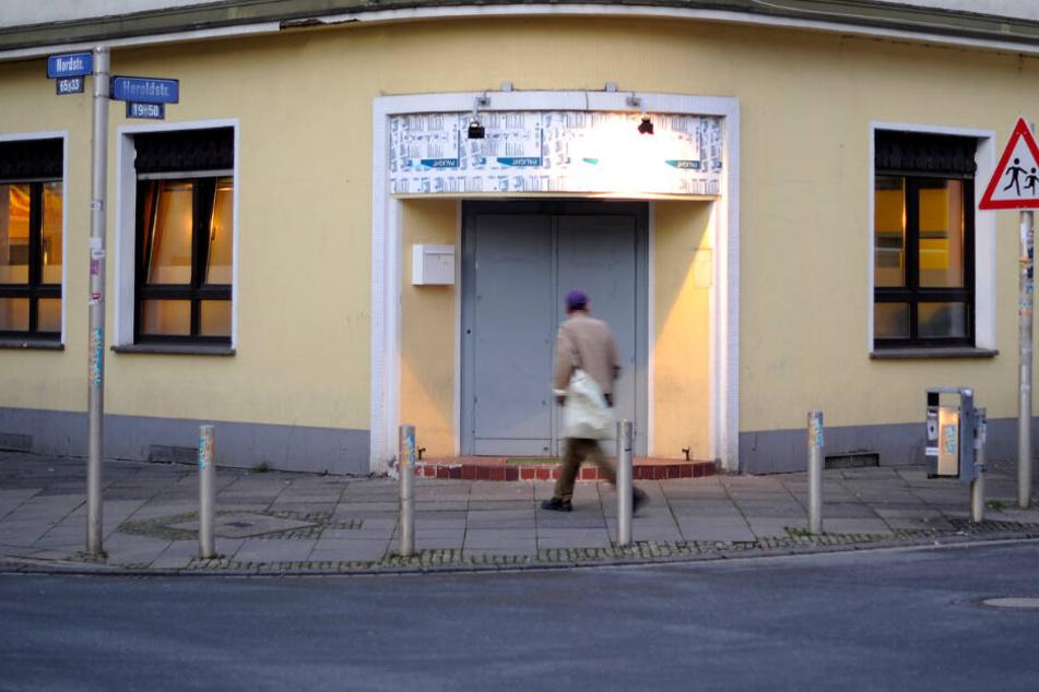 """Der Trinkraum in Dortmund """"Cafe Berta""""."""