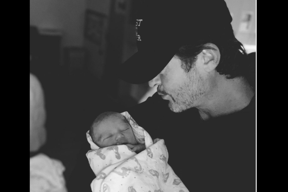 Robin Thicke (43) is absolutely in love with his son Luca Patrick.