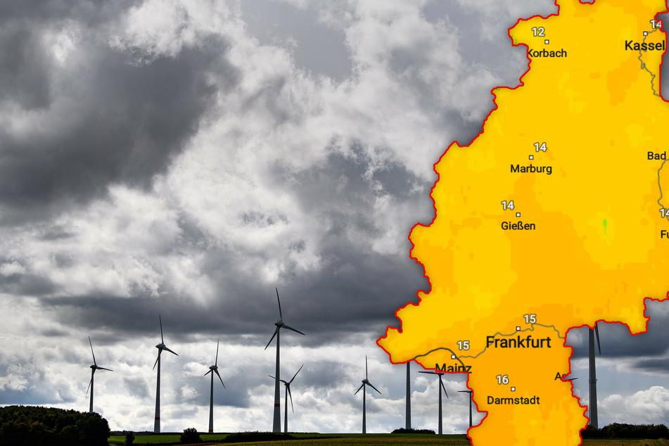 Sturm und Regenschauer: Hessen erwartet ungemütliches Herbst-Wetter