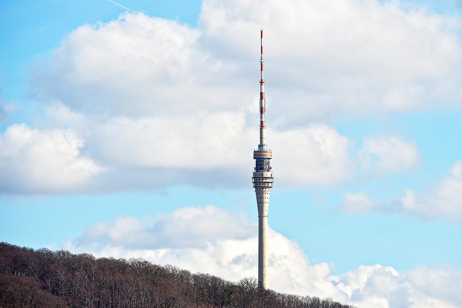 Dresden: Grüne protestieren gegen Fernsehturm!