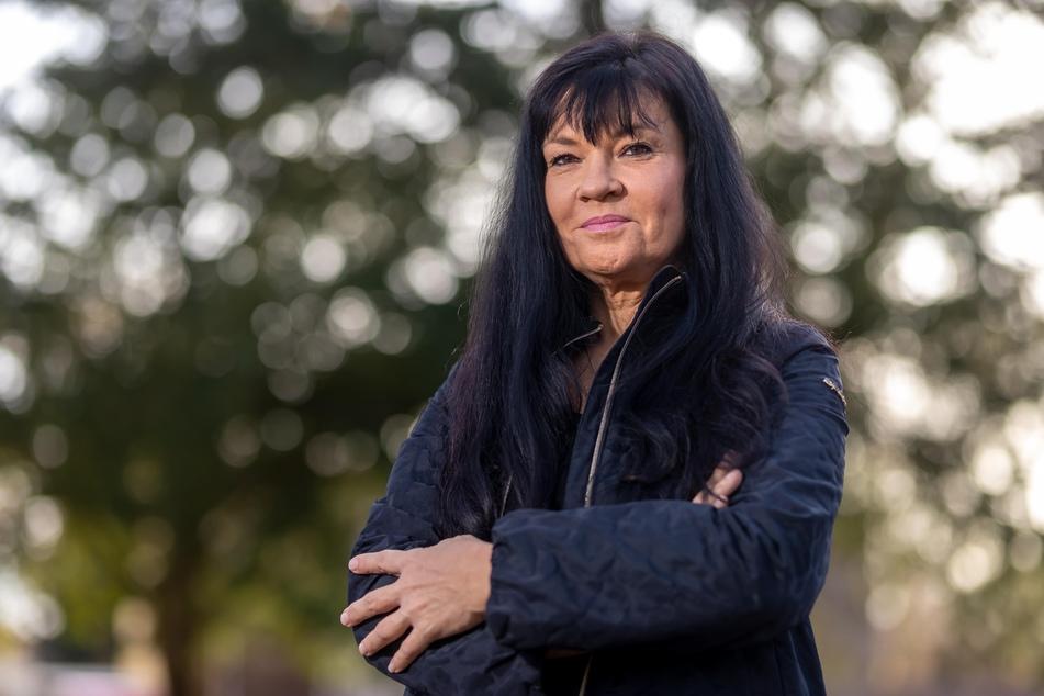 Ines Saborowski (54,CDU) ärgert sich über den Schandfleck im Stadtbild.