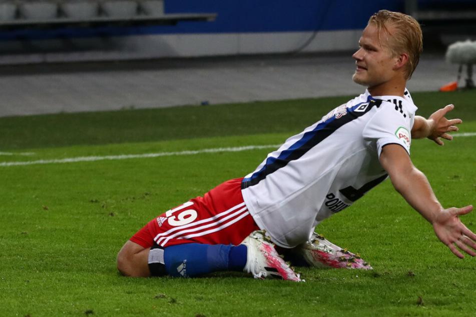 Joel Pohjanpalo erzielte für den HSV insgesamt neun Tore.